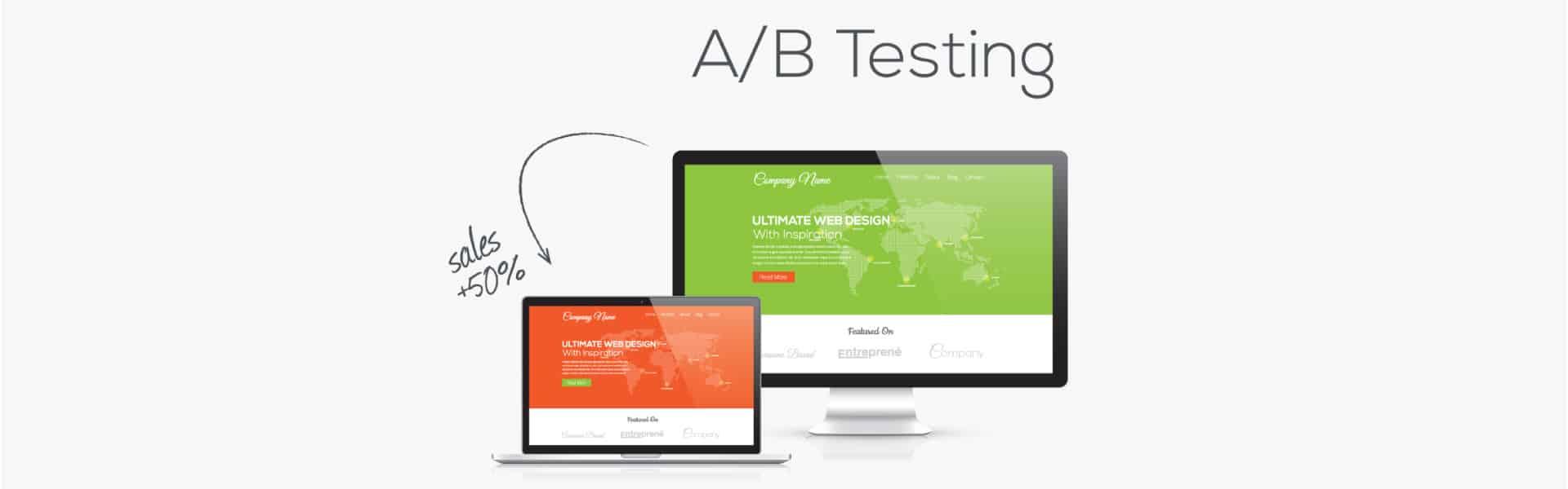 AB test sales