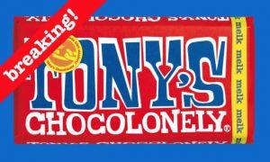 beursgang van Tony's Chocolonely