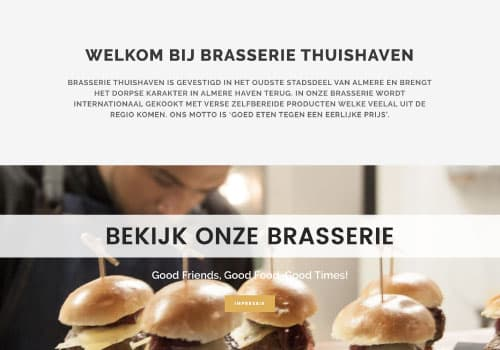 thuishaven website design