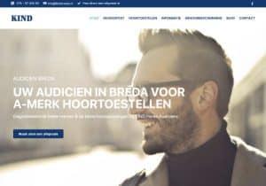 kind audiciens website design