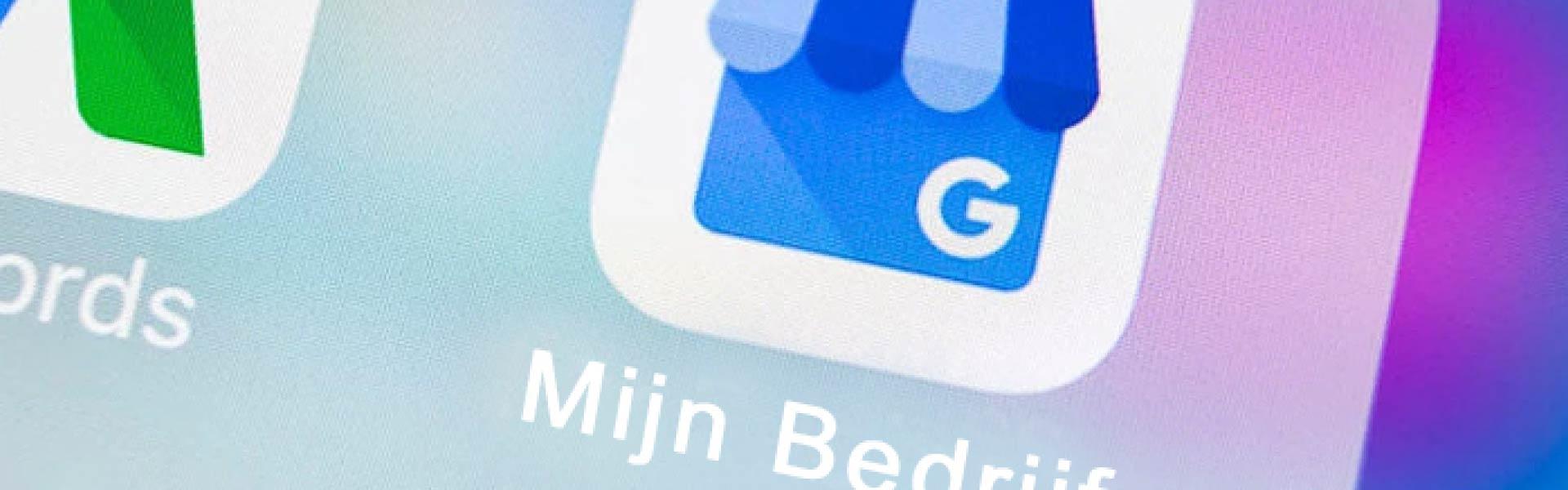 google mijn bedrijf