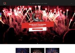 china red website header