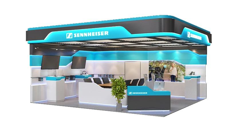 Sennheiser-Booth-design