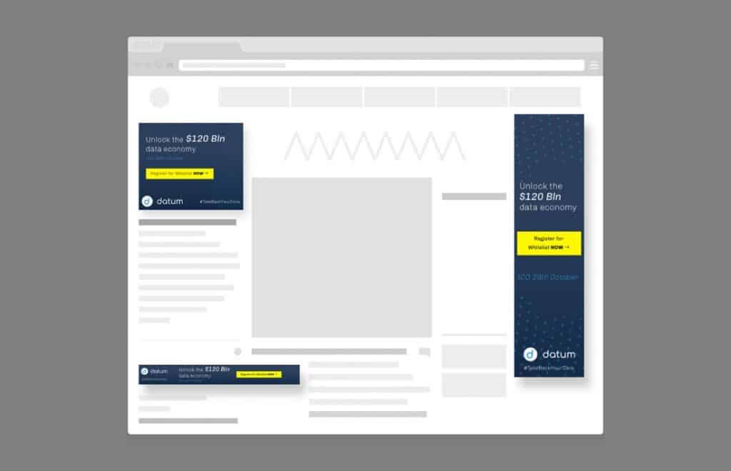 datum online banners overzicht