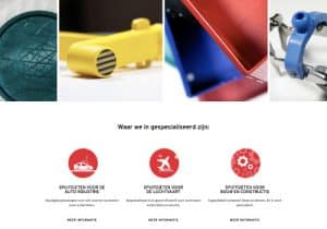 AKF plastics website design