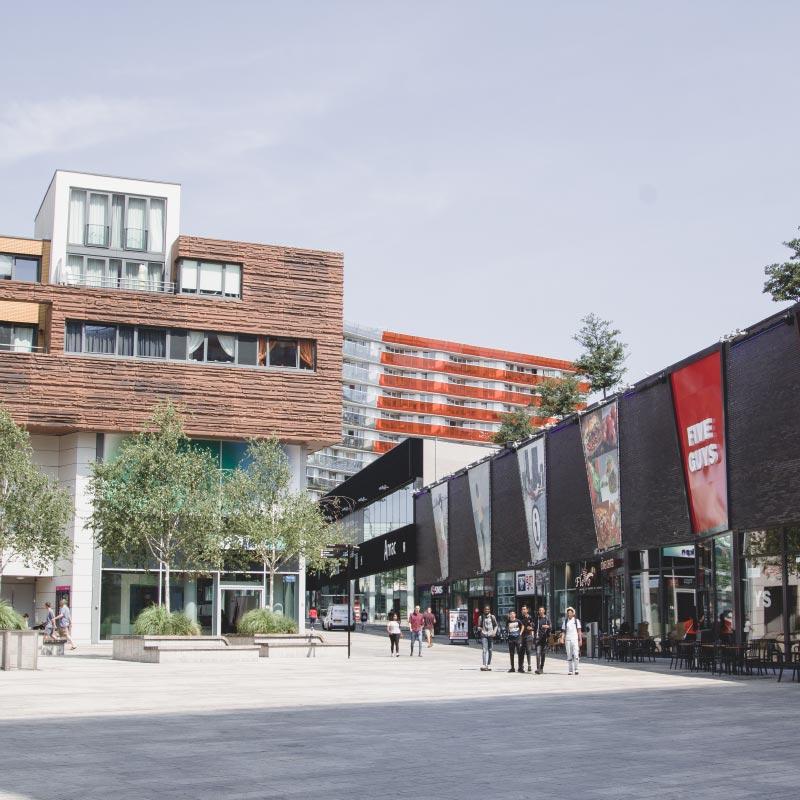 Almere stad winkels