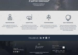 fluon website design