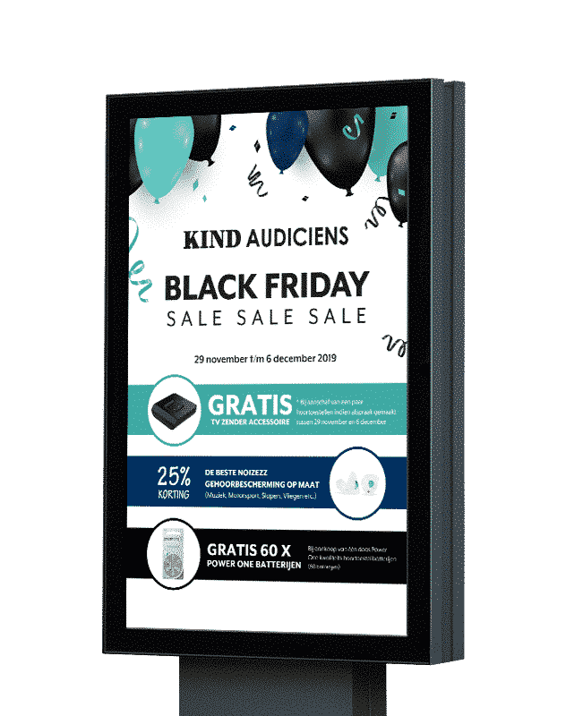 Poster-KIND-black-friday-sale