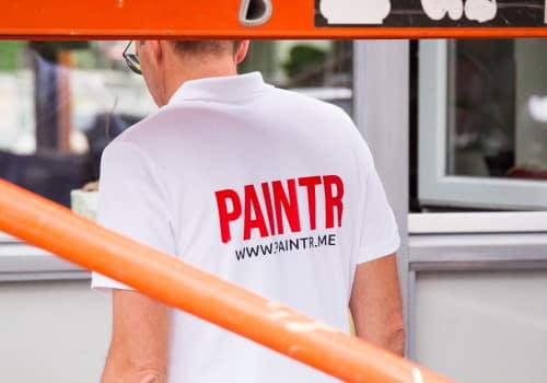 paintr schilderwerk shoot polo design