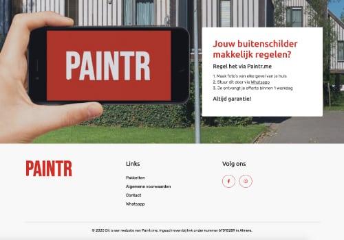 paintr webdesign
