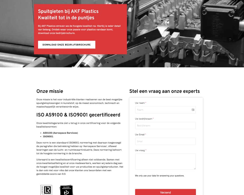 AKF-plastics-advanced-website-ontwerp