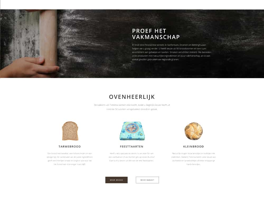 Tietema-basic-wordpress-website