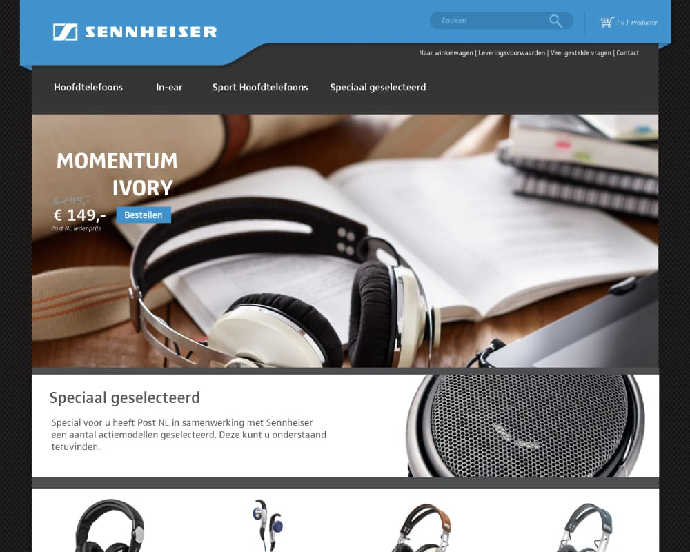 sennheiser-postnl-webshop-ontwerp 1